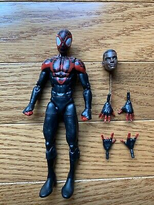 Marvel Legends MILES MORALES SPIDER-MAN Space Venom BAF Series Figure Loose