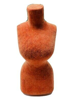 Vintage Rare Mini Small Dress Form Mannequin With Adjustable Stand