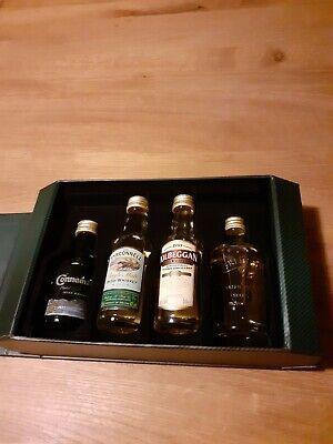 4 x Irish Whisky 5 cl 40 % Vol. Connemara Tyrconell Kilbeggan Greenore alt ++RAR