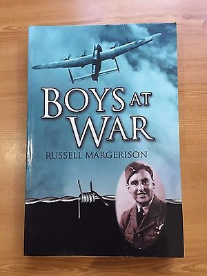 """(B) 2005 """"BOYS AT WAR"""" RUSSELL MARGERISON WW2 PAPERBACK BOOK"""