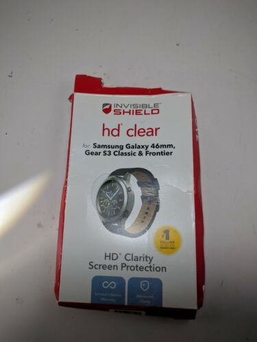 ZAGG InvisibleShield HD Screen Protector Samsung Gear S3 Classic&Frontier