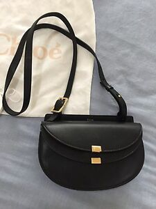 Authentic Chloe Georgia leather shoulder bag Rose Bay Eastern Suburbs Preview