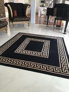 Black and gold rug Dural Hornsby Area Preview