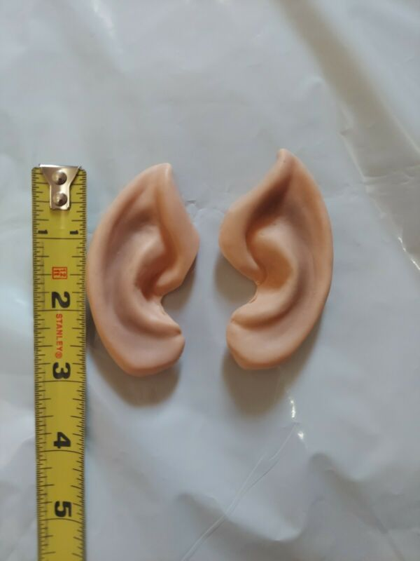 Spock Costume Rubber Ears Adult Size