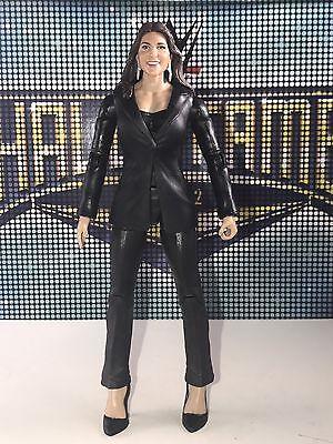 Mattel Wwe Basic 37 Stephanie Mcmahon Helmsley The Authority Power Suit