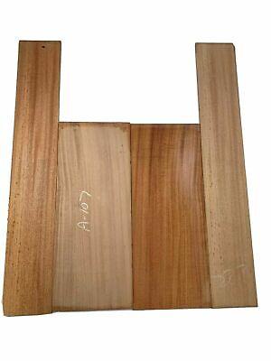 Mahogany Dreadnought Guitar Back & Side Set  Luthier Tonewood Book Match Mahogany Tone Wood