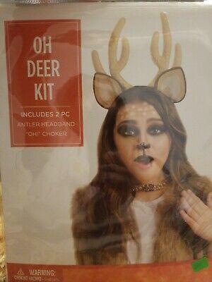 Deer For Halloween (Oh Deer Halloween Costume Kit for Women)