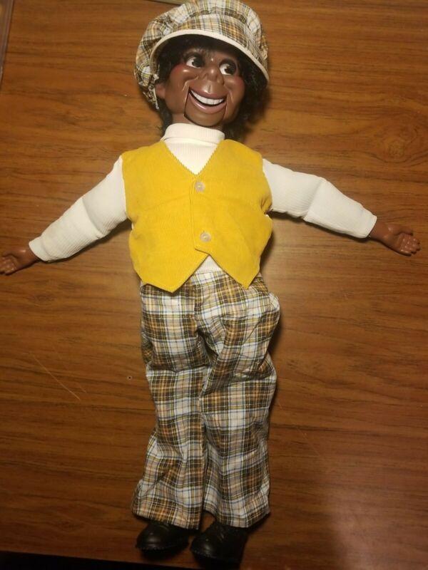 Vintage 1973 Lester Ventriloquist Dummy Black Puppet Willie Tyler EEGEE Doll