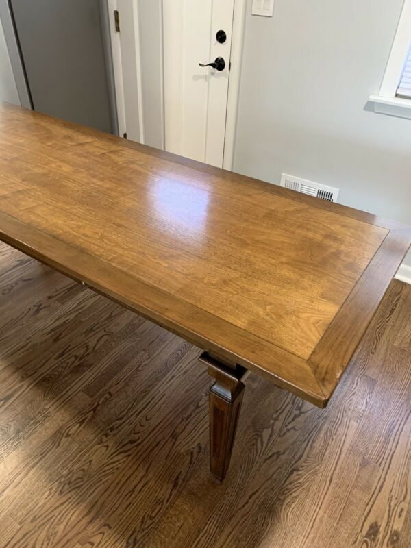Baker Furniture Desk/Dining Table w/2 Drawers (EXC.)