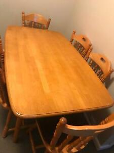 Timber Dining Setting