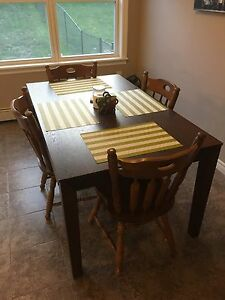 Table and Chairs-Solid Wood