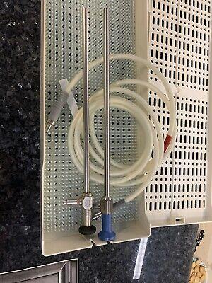 Karl Storz 26003aa 10mm 0 Scope Stryker 0502457-010 10mm 0 Light Cable Case