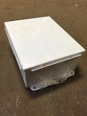 Hoffman Engineering Enclosure Electrical Box A-1008cha1008ch New 4 X 8 X 10