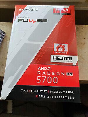 SAPPHIRE Radeon RX 5700 PULSE 8GB GDDR6 Grafikkarte OVP, 8 Monate alt m. Rechnu!