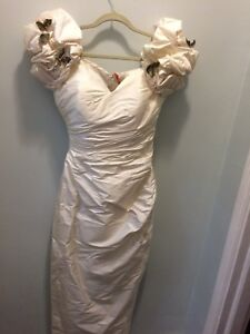 Vintage Wedding Dress Size 6