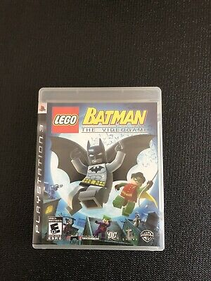 Lego Batman The Videogame Complete PS3 Sony Playstation 3 w Case Manual