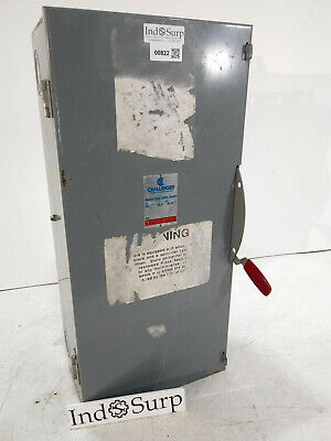 Challenger Disconnect 200 Amp 240 Volt 3 Phase 3 Wire Type 1 Un-fused