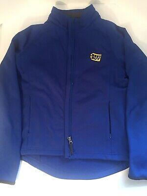 Best Buy Employee Staff Uniform Zip Up Fleece Jacket S Indoor Outdoor