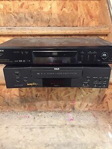 RCA vcr/Sony CD player