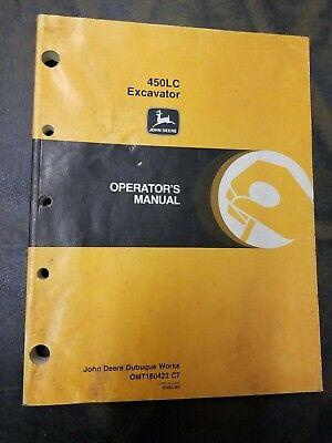 John Deere 450lc Excavator Operators Manual
