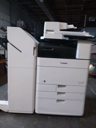 Canon Imagerunner Advance C5550i Color Network Mfp Copier W/high Capacity Cfu