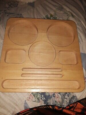 Solid Wood Organizing Desk Tray 11.5 X 11.5 X 1 Rotates. Smores Wizard Server
