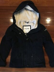 Girls size 10 Abercrombie fall jacket