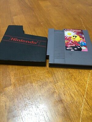 Ms. Pac-Man Namco Version Nintendo Nes Authentic With Case