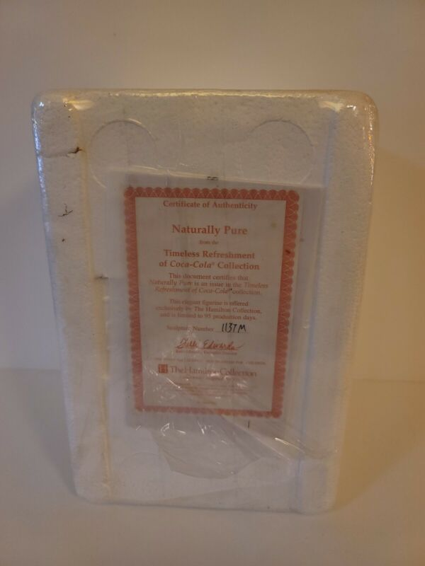 NEW The Hamilton Collection Timeless Refreshments Of Coca Cola New In Box