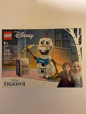 LEGO Disney Frozen II Olaf 41169 Olaf Toy Figure Building Toy 122pcs New