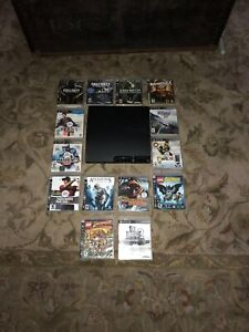 PS3 bundle with 14 games 3 controllers (best offer)