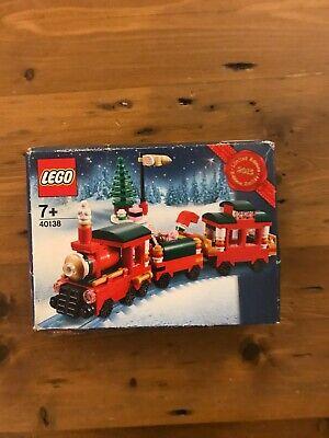 Lego 40138 Christmas Train 2015 Limited Edition Damaged Box