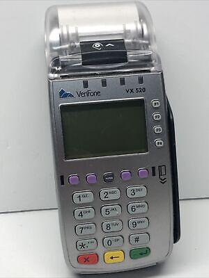 Verifone Vx520 Cardchip Reader Terminal Pos Used