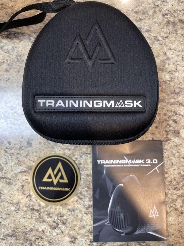Training Mask 3.0 Face Mask, Large - Black. *Brand New