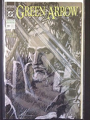 Green Arrow #44   (DC 1st Series 1991)    Mike Grell   VF