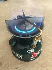 Coleman 508 camping stove with case