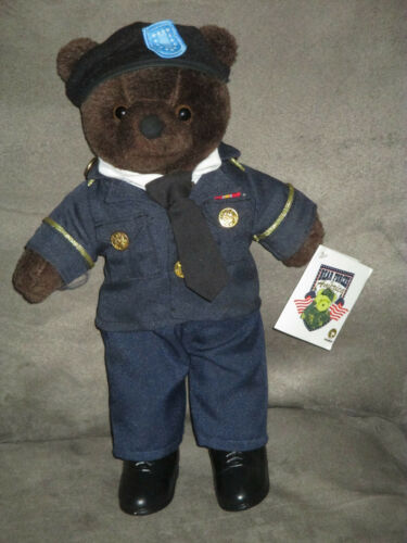 "BEAR FORCES OF AMERICA Patriotic Ira Greene ASU Army Service Uniform 10"" Plush"