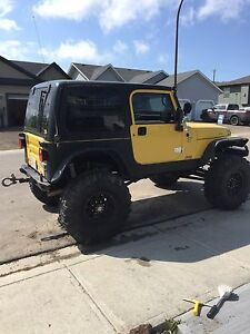 2001 jeep TJ 1ton coil over