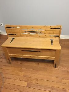 Hand made bench
