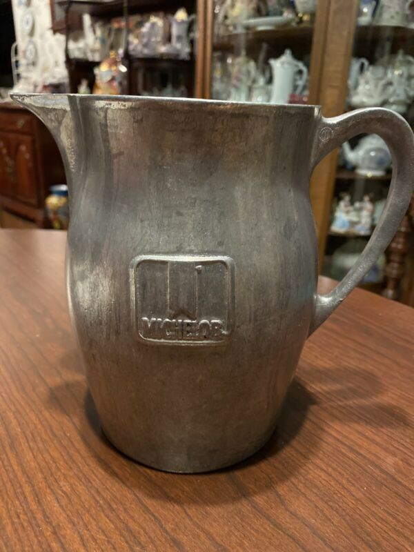 Michelob Beer Pewter Pitcher