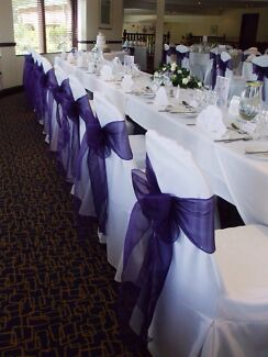 D.I.Y. Hire from $2.00 Chair Cover & Sash!  Thurgoona Albury Area Preview
