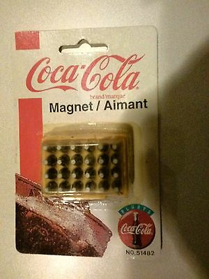 Coca Cola Magnet-- Case of Bottles (1999) Unopened