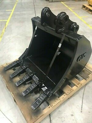 New 24 Excavator Bucket For A Hyundai R35 W Coupler Pins