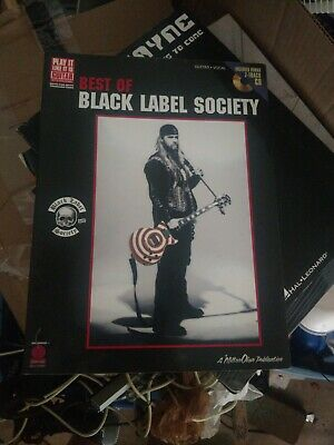 BLACK LABEL SOCIETY Guitar Tab Lesson CD Software 86 Songs