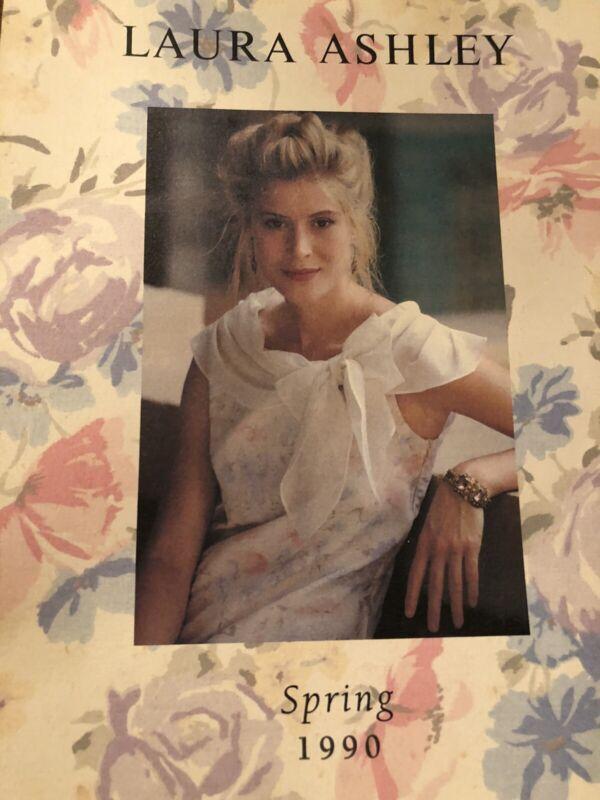 Laura Ashley By Post Catalog Catalogue Spring 1990 Rare Pristine Vendala
