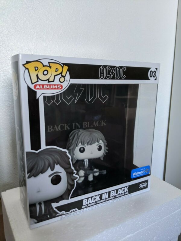 Walmart Exclusive *PRE-ORDER* Albums: AC//DC Funko POP Back in Black