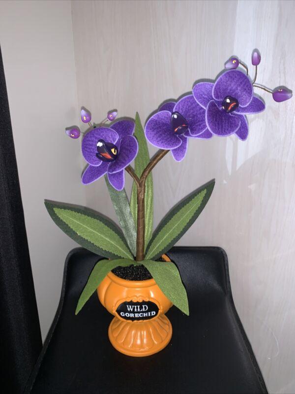 Target Hyde & EEK! Halloween 2021 Wild Gorechid Faux Orchid Creepy Plant Decor