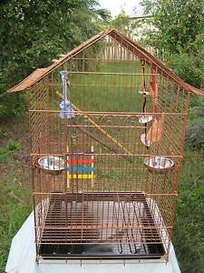 EXTRA LARGE BIRD CAGE / AVIARY - as new- with ALL NEW ACCESSORIES Holland Park Brisbane South West Preview