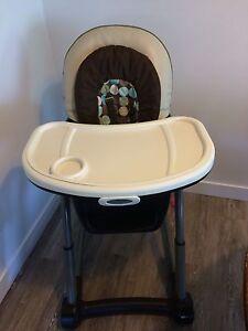 Graco bloosom high chair