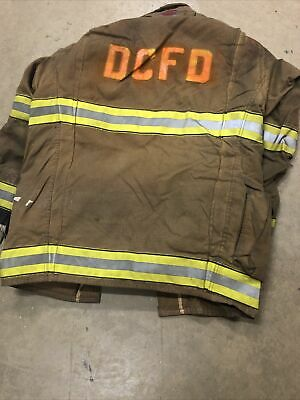 Mfg. 2009 Globe Gxtreme 42 X 35 Firefighter Turnout Bunker Jacket Fire Rescue